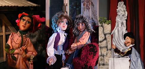 Тростевые куклы в кукольном театре